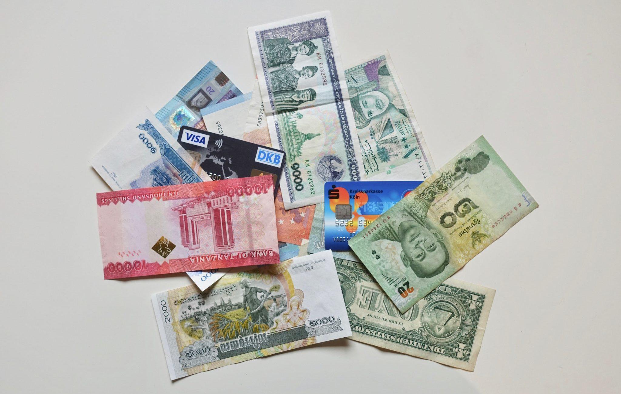 Update 06/20: Geld auf Reisen – Kreditkarte, Girokonto und Bargeld