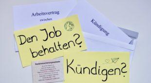 Wohin mit dem Job? Kündigen, Sabbatjahr und Co.