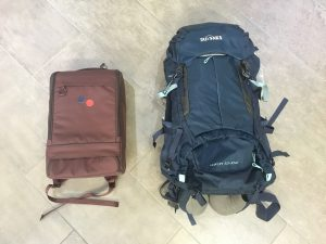Packliste Weltreise Rucksäcke