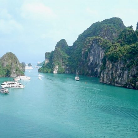Mit der Legacy Legend Cruise durch Halong Bay