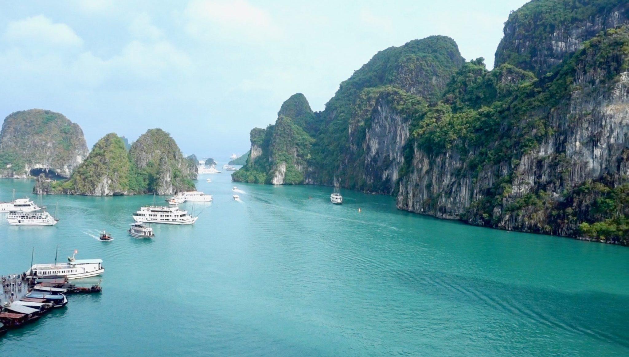 Halong Bay mit der Legacy Legend Cruise