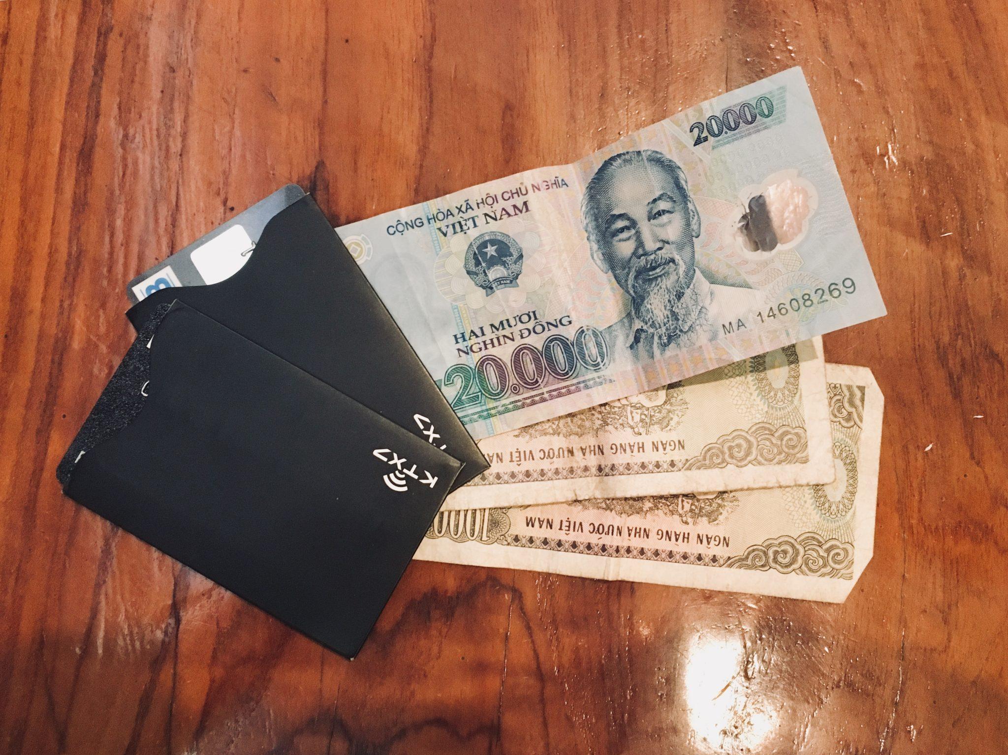 Meine Ausgaben in 30 Tagen Vietnam
