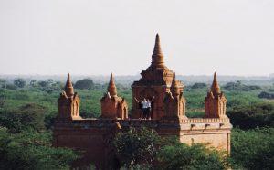 Weltreise Bagan Tempel Myanmar