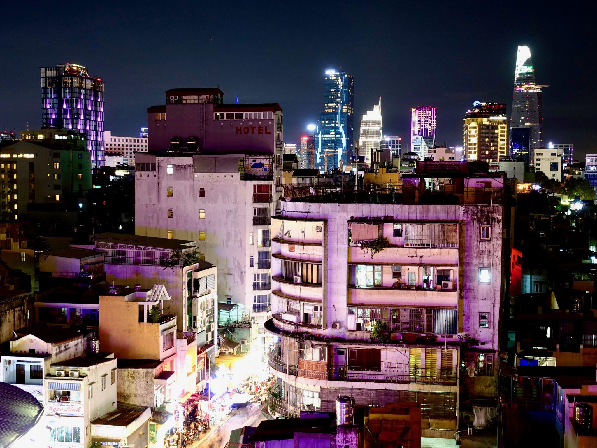 Saigon Weltreise Route Vietnam