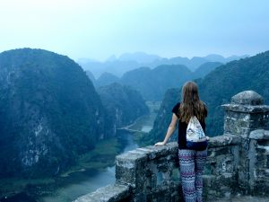 Route Vietnam Ninh Binh Weltreise