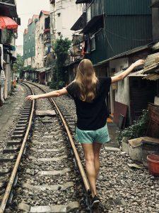 Route Vietnam Weltreise Hanoi