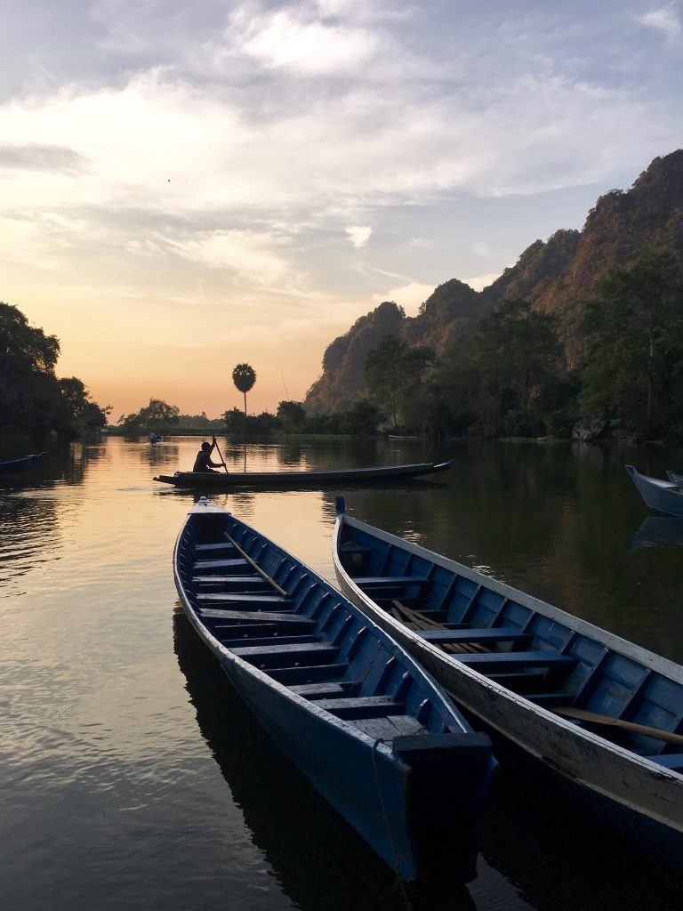 Route Myanmar Sadan Cave Hpa-an
