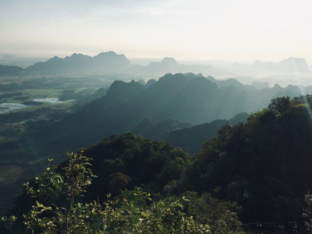 Aussicht Mount Zwegabin
