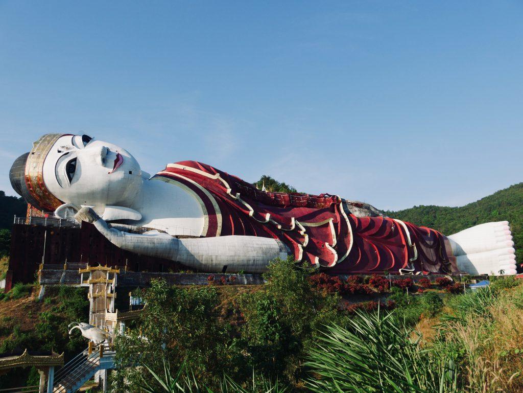 Route Myanmar Buddha Mawlamyaing