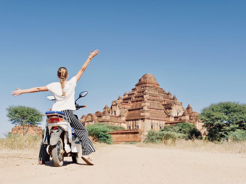 Route Myanmar Bagan Tempel