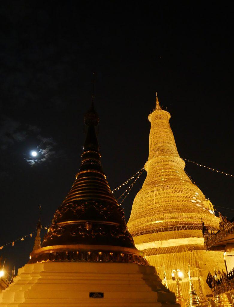 Route Myanmar Yangon Shwedagon Pagode