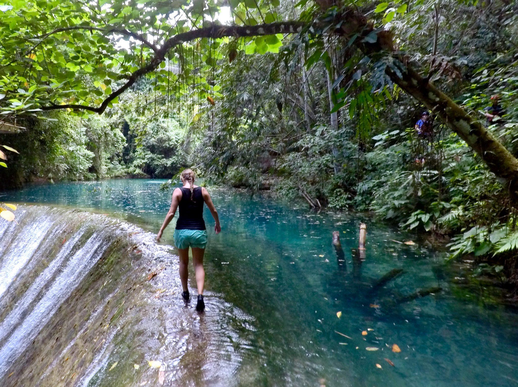 Philippinen Route Kawasan Falls