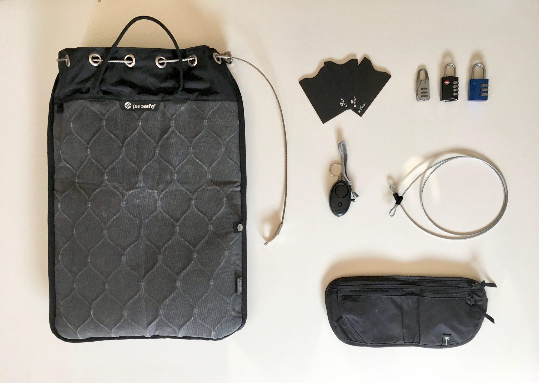Weltreise Packliste Sicherheit