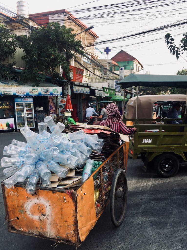 Route durch Kambodscha Phnom Penh