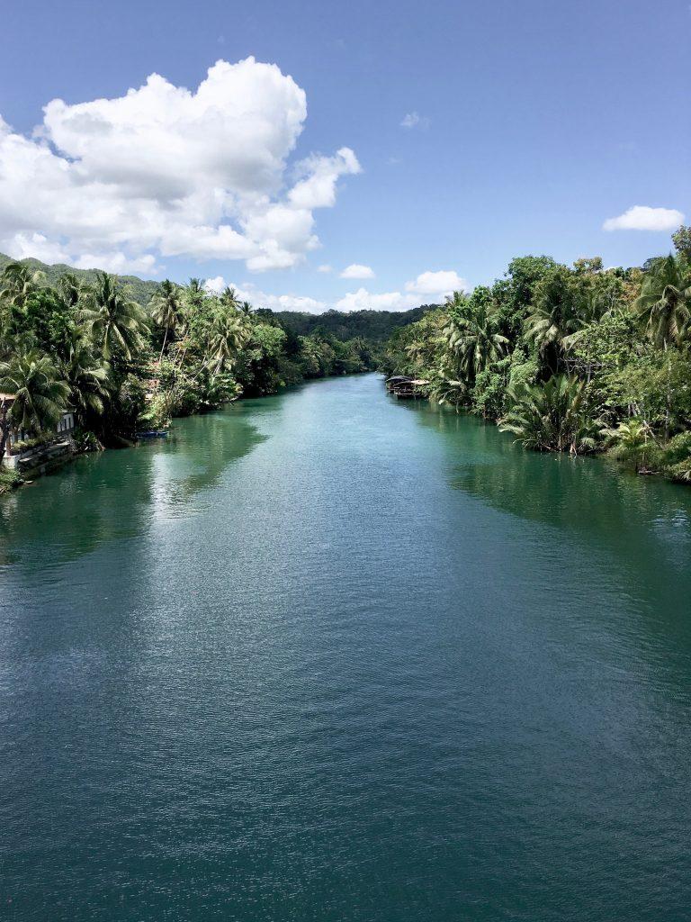 Philippinen Route Loboc River