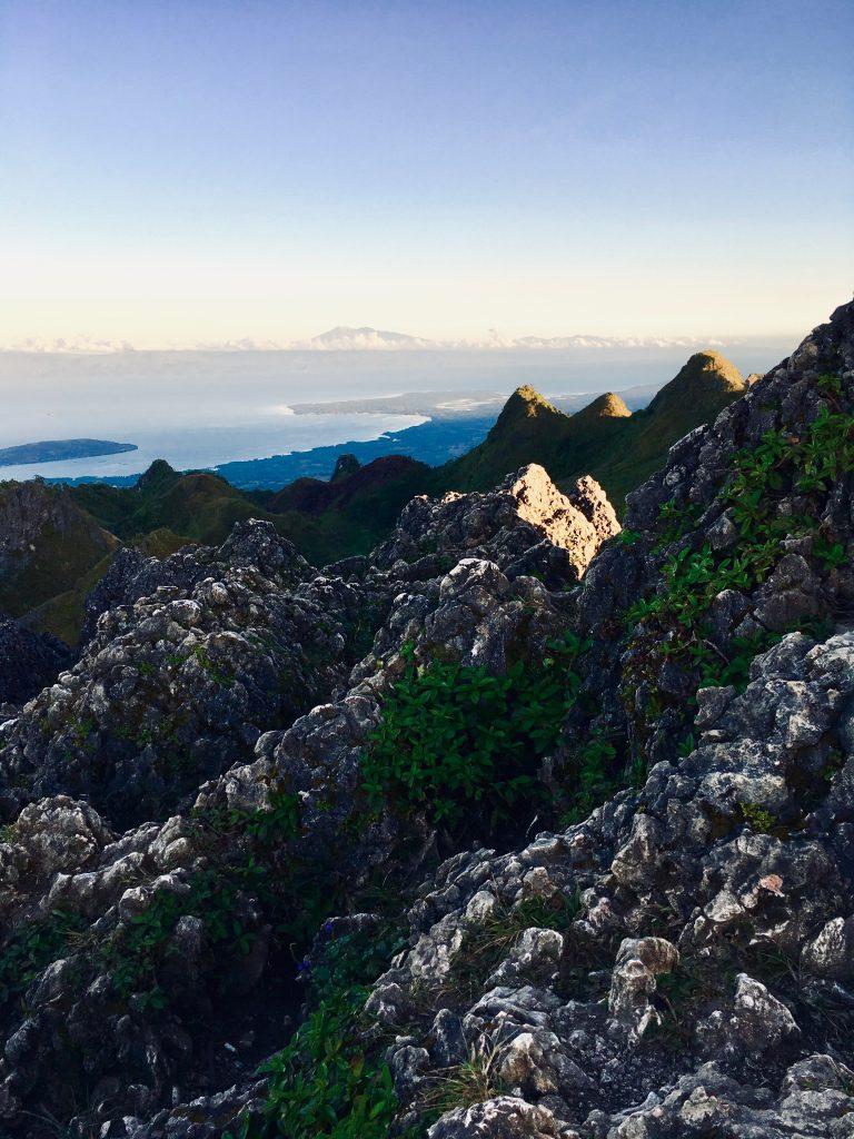 Philippinen Route Osmeña Peak
