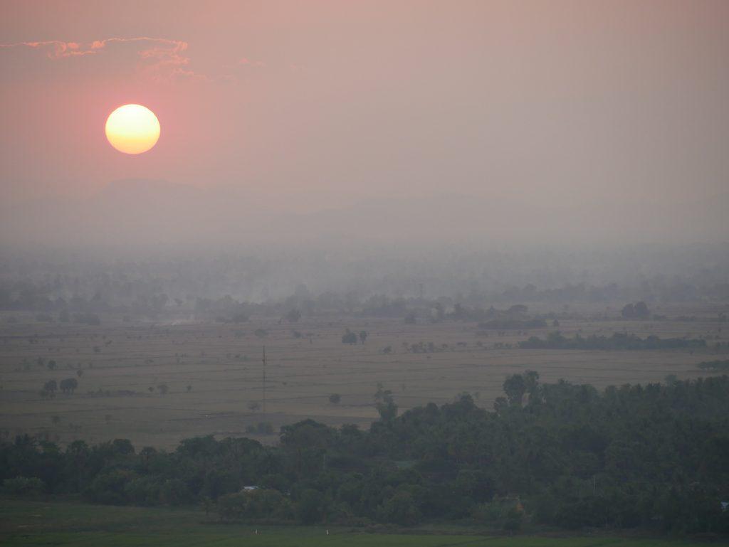 Route durch Kambodscha