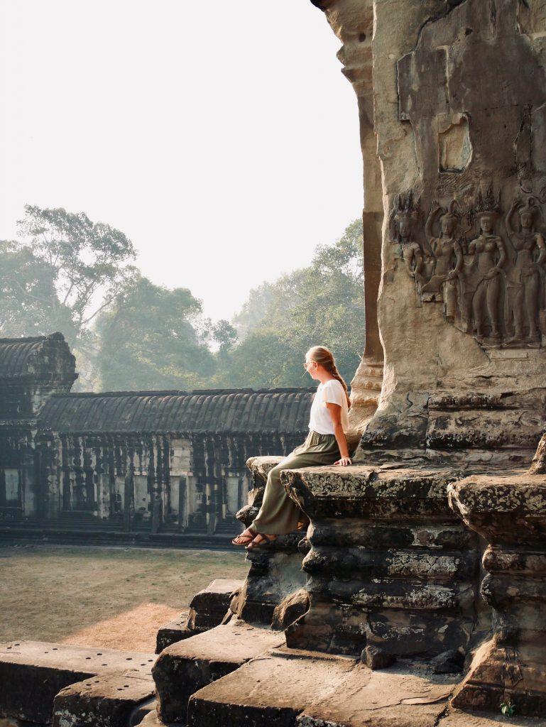 Route durch Kambodscha Angkor Wat