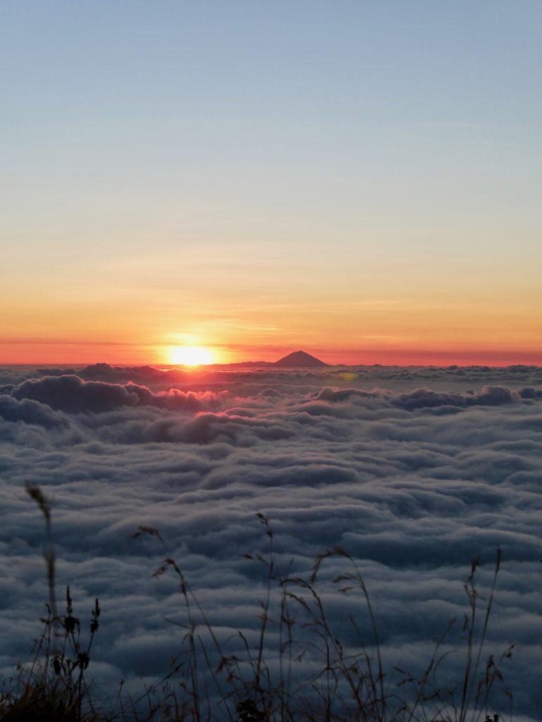 Rinjani Sonnenuntergang