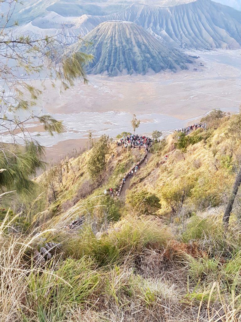 Route Indonesien Bromo